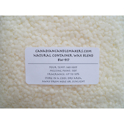 Natural Container Wax Blend - BW-917